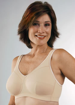 Classique Full Figure Comfort Post Pocketed Bra, Style 761