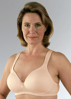 Classique Molded, Seamless Soft Cup Post Pocketed Bra, Style 759