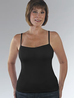Classique Outer Wear Camisole Post Pocketed Bra, Style 736