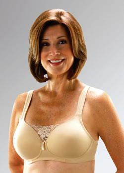 Classique Seamless, Molded Soft Foam Cup Post Pocketed Bra, Style 720