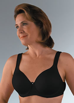 Classique Seamless Molded Underwire Post Pocketed Bra, Style 758