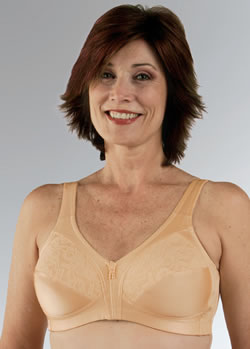 Classique Tricot Lace Full Figure Post Pocketed Bra, Style 792
