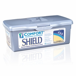 Comfort Personal Cleansing Shield Perineal Care Washcloths (Pack of 32)