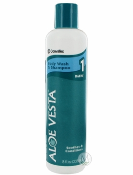ConvaTec Aloe Vesta Body Wash and Shampoo (8 oz.)