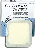 "Convatec CombiDERM ACD Wound Cover Dressing (4""x4"") (by the Each)"