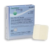 "Convatec DuoDERM Extra Thin CGF Dressing (1.75""x1.5"") (Box of 20)"