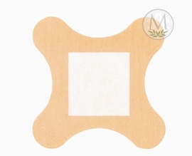Coverlet 4-Wing Fabric Bandages (Box of 50)