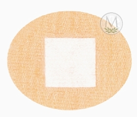Coverlet Oval Spot Fabric Bandages (Box of 100)