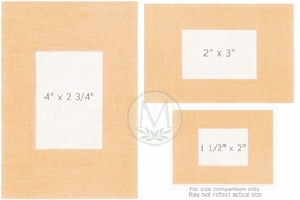 """Coverlet Patches Fabric Bandages (2""""x3"""") (Box of 50)"""