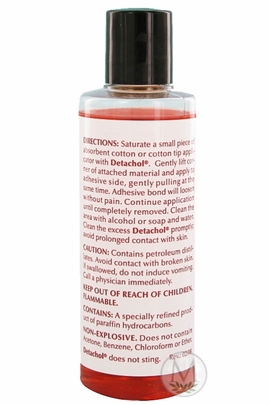 Detachol Adhesive Remover (2 oz. Bottle)