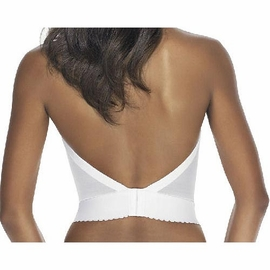 Dominique Intimate Apparel Backless Satin Longline Bra 6377