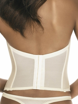 Dominique Intimate Apparel Low Back Satin Brasselette 7750