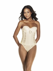 Dominique Intimate Apparel Satin & Lace Torsolette 8949