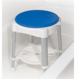 Drive Bath Stool with Padded Rotating Seat