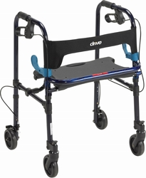"Drive Clever-Lite Walker, Adult, with 5"" Castors"
