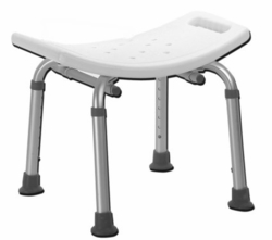 Drive Medical Deluxe Aluminum Adjustable Height Bath Bench