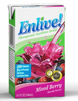 Enlive! Clear Liquid Nutrition (By the Individual Box