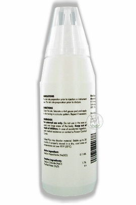 ExSept Plus First Aid Antiseptic Drip Bottle (17 oz./500ml)