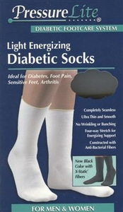 FLA PressureLite Light Energizing Diabetic Socks (Calf Length)