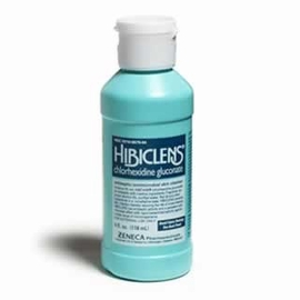 Hibiclens Antiseptic/Antimicrobial Skin Cleanser (4 oz.)