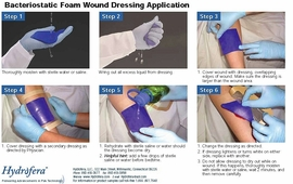 "Hydrofera Blue Wound Dressing (2""x2"") (Box of 10)"