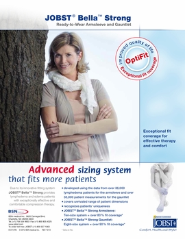 Jobst Bella Strong Ready-to-Wear Armsleeve (20-30 mmHg)
