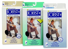 Jobst for Men Knee High Closed Toe Compression Socks (20-30 mmHg)