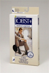Jobst for Men Knee High Open Toe Compression Socks (30-40 mmHg)