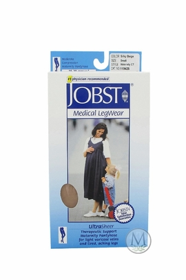 Jobst UltraSheer Maternity Pantyhose Closed Toe (15-20 mmHg)
