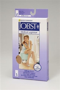Jobst UltraSheer Petite Knee High Closed Toe (30-40 mmHg)