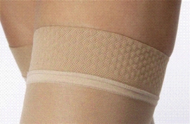 Jobst UltraSheer Thigh High with Silicone Dot Band Open Toe (15-20 mmHg)