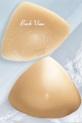 Jodee Caress Light Tone Triangle Silicone Breast Form, Style 56