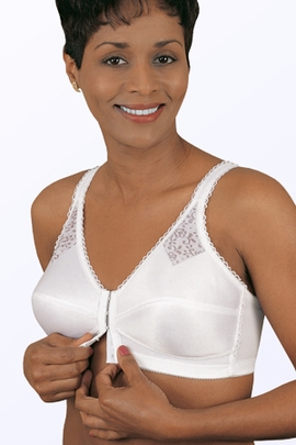 Jodee Contemporary Perma-Form Front Hook Pocketed Bra, Style 331