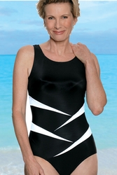 Jodee Fun In The Sun One-Piece Soft Cup Pocketed Swimsuit, Style 1469