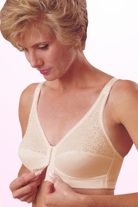 Jodee Posture Front Hook Pocketed Bra, Style 1185
