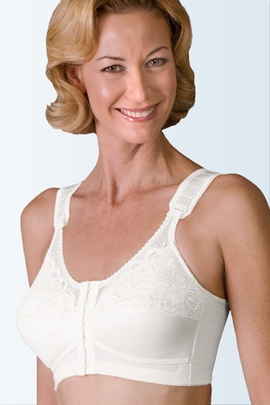 Jodee Sheer Comfort Front Hook Pocketed Bra, Style 3501