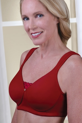 Jodee Soft & Smooth Scarlet Pocketed Bra, Style 814