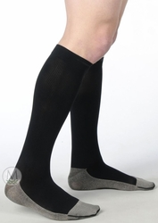 Juzo 2001 RI Soft Ribbed Silver Sole Socks for Men (20-30mmHg)
