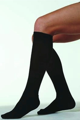 Juzo Basic 4201AD Ribbed Socks (20-30 mmHg)