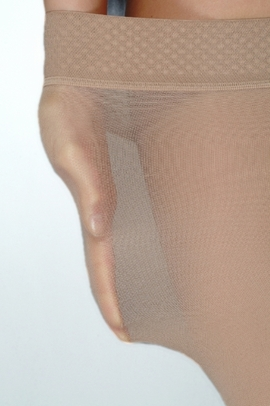 Juzo Basic 4411AG Thigh High Stockings (20-30 mmHg) with Silicone Border