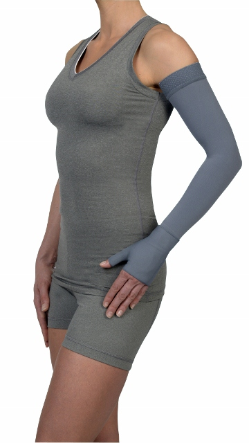 Juzo Dynamic Soft-In Compression Arm Sleeve 3511 CH (20-30 mmHg) with Shoulder Strap-Seasonal Colors