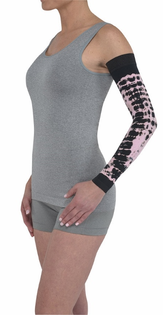 Juzo Dynamic Soft-In Compression Arm Sleeve 3512 CG--Seasonal Colors (30-40 mmHg)
