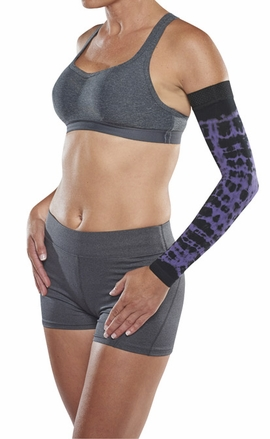 Juzo Dynamic Soft-In Compression Arm Sleeve 3512 CH (30-40 mmHg) with Shoulder Strap-Seasonal Colors