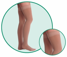 Juzo Dynamic (Varin) 3513L AG Thigh-High Compression Hose (40-50 mmHg)