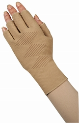 Juzo Expert Hand Gauntlet with Thumb/Finger Stubs with Cooling Vent 3021 ACFSCV (18-21 mmHg)