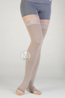 Juzo Silver 2062 AG Thigh High Stockings (30-40 mmHg)