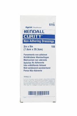 """Kendall Curity Oil Emulsion Dressing (3""""x8"""") (Box of 36)"""