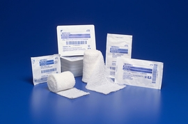 "Kendall Kerlix Gauze Bandage Rolls  (3.4"" x 3.6 yds.) (by the Each)"