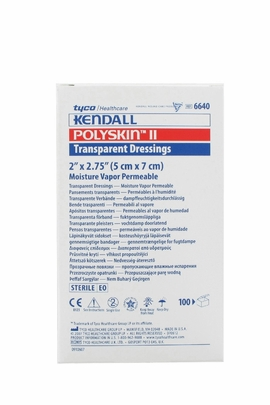Kendall Polyskin II Dressings #6640 (2x2.75) (Box of 100)
