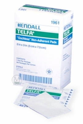 "Kendall Telfa Non-Adherent Sterile Pads (2""x3"") (Box of 100)"